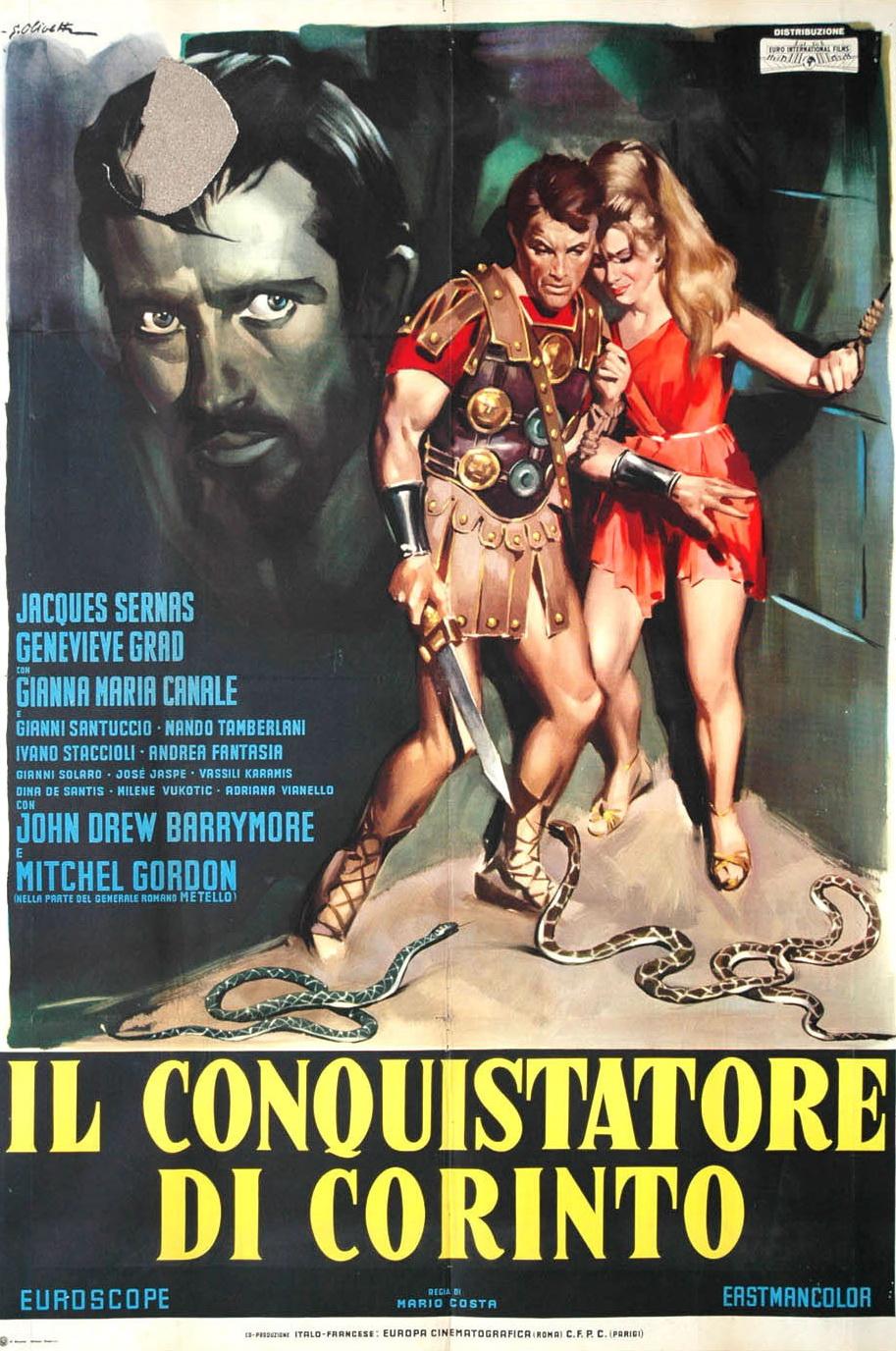 A Destruição de Corinto / O Conquistador de Corinto [Dub] – IMDB 4.8