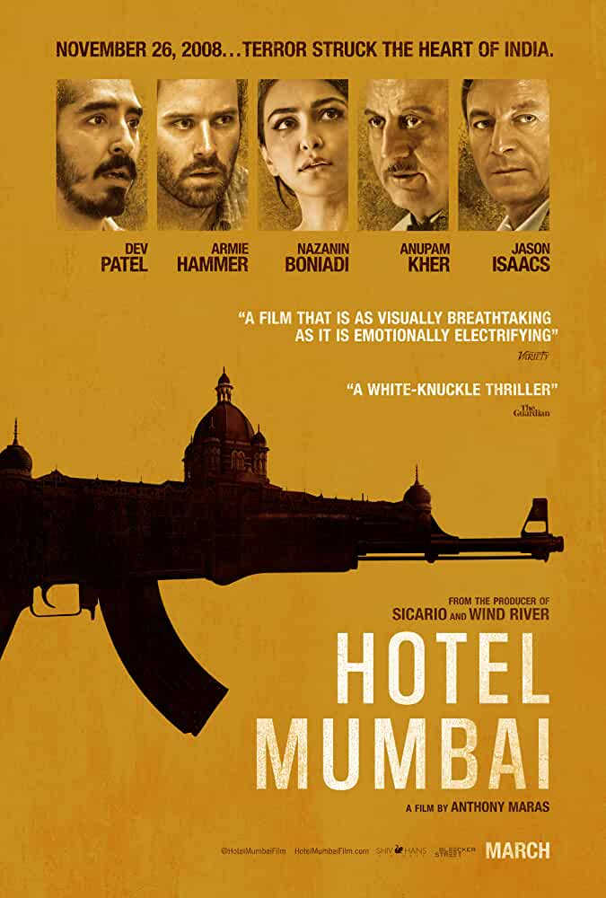 Download Hotel Mumbai (2018) Full Movie In Hindi BluRay 480p [350MB] | 720p [1.2GB] | 1080p [2.3GB]