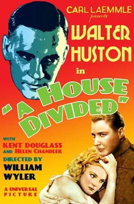 Helen Chandler, Walter Huston, and Douglass Montgomery in A House Divided (1931)