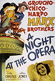 A Night at the Opera (1935) Poster - Movie Forum, Cast, Reviews