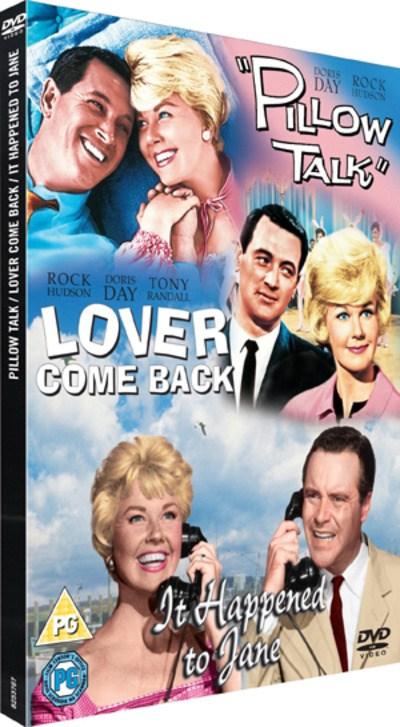 Doris Day, Jack Lemmon, and Rock Hudson in It Happened to Jane (1959)