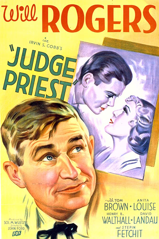 Tom Brown, Anita Louise, and Will Rogers in Judge Priest (1934)