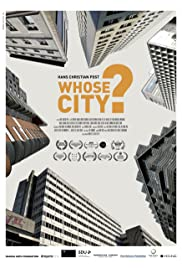 Whose city? Poster