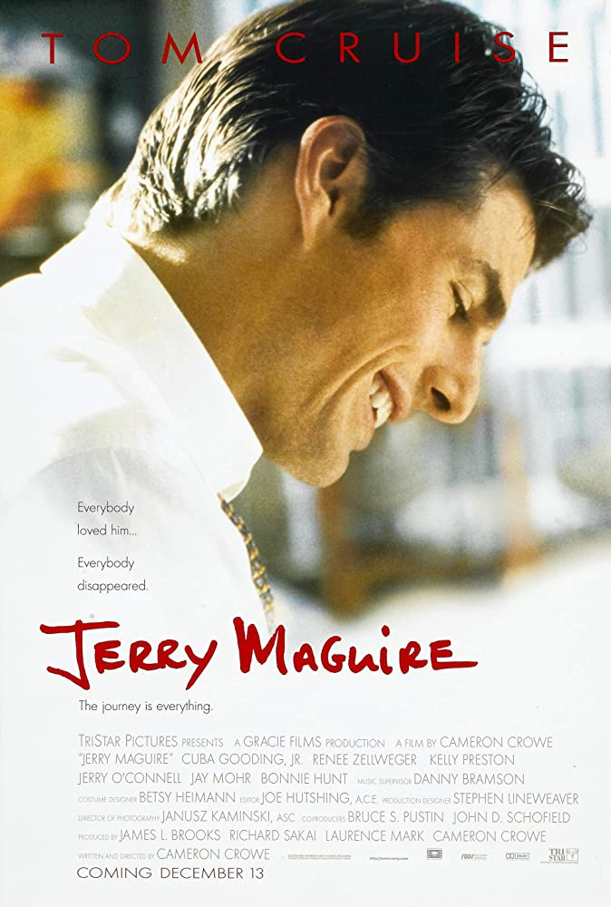 Tom Cruise in Jerry Maguire (1996) Best Romantic movies