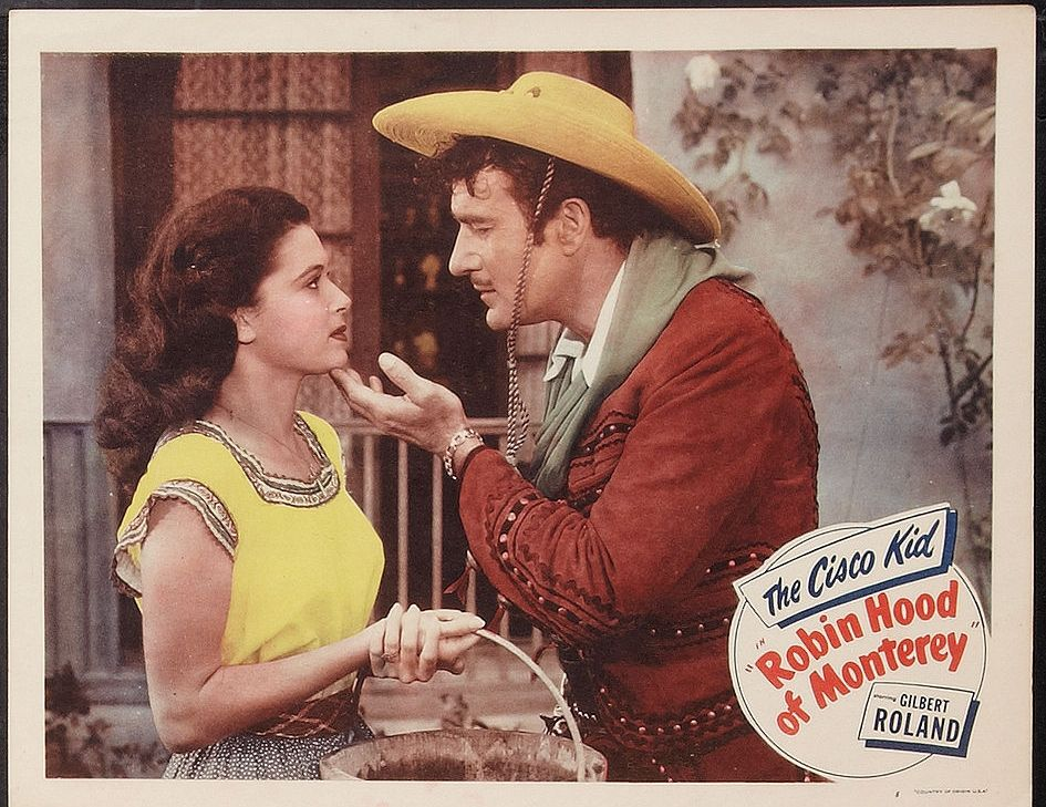 Donna Martell and Gilbert Roland in Robin Hood of Monterey (1947)