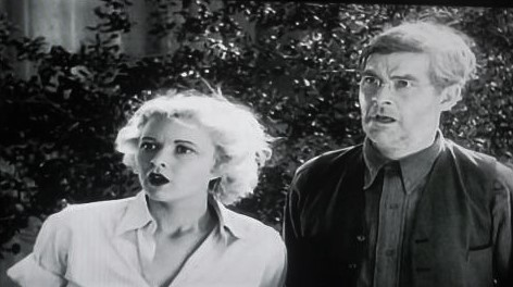 George 'Gabby' Hayes and Cecilia Parker in Riders of Destiny (1933)