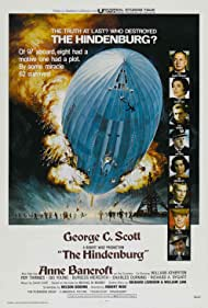 Anne Bancroft, Charles Durning, George C. Scott, William Atherton, Burgess Meredith, Roy Thinnes, and Gig Young in The Hindenburg (1975)