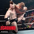 Randy Orton and Stephen Farrelly in WWE Battleground (2015)