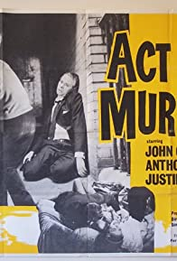 Primary photo for Act of Murder