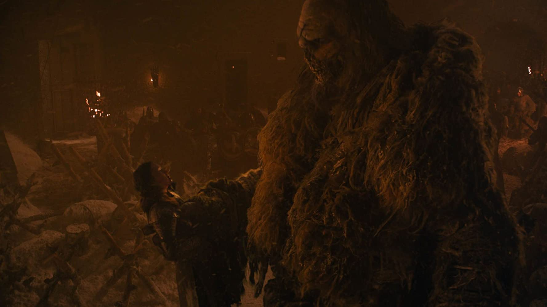 Ian Whyte and Bella Ramsey in Game of Thrones (2011)