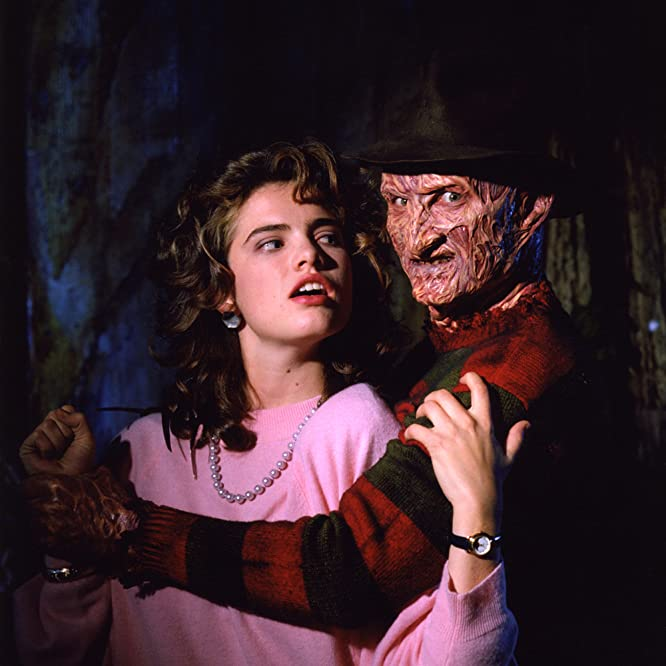 Robert Englund and Heather Langenkamp in A Nightmare on Elm Street 3: Dream Warriors (1987)