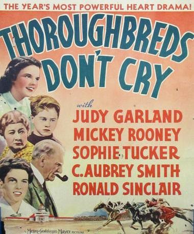 Thoroughbreds Don't Cry (1937) - Photo Gallery - IMDb