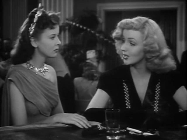 Ida Lupino and Dolores Moran in The Man I Love (1946)
