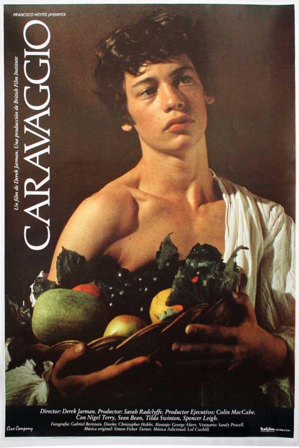 Dexter Fletcher in Caravaggio (1986)