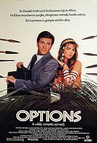 Joanna Pacula and Matt Salinger in Options (1989)