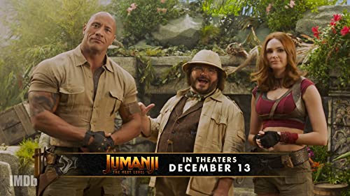 'Jumanji: The Next Level' Cast Teases Live Show Premiere!