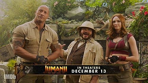 'Jumanji: The Next Level' Cast Teases Live Show Premiere!