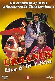 Urbanus: Live & in't echt Poster