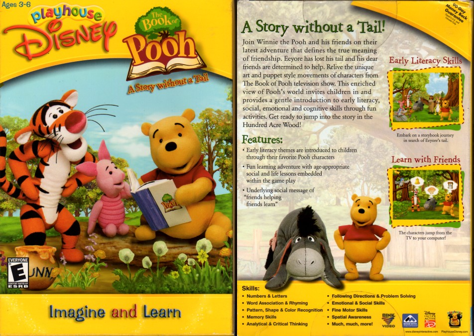 Playhouse Disney The Book Of Pooh A Story Without A Tail 2002