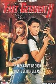 Corey Haim and Cynthia Rothrock in Fast Getaway II (1994)