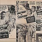 J. Edward Bromberg, Irene Hervey, Henry Stephenson, Kent Taylor, Charlotte Wynters, and George Zucco in Halfway to Shanghai (1942)