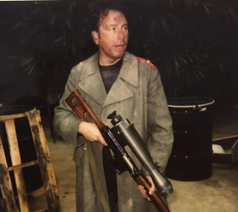 John Ritter in Mercenary (1996)