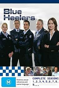 Rachel Gordon, Geoff Morrell, Danny Raco, John Wood, and Samantha Tolj in Blue Heelers (1994)