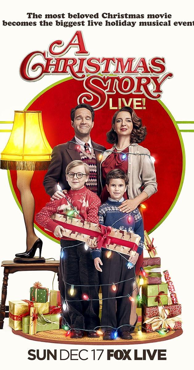 A Christmas Story Live! (TV Movie 2017)   IMDb