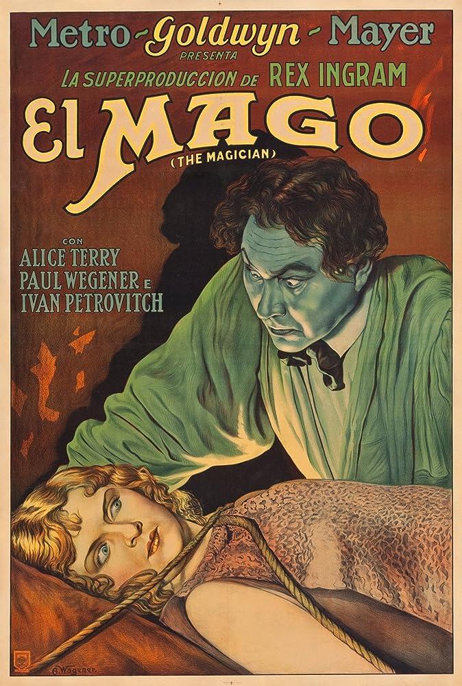 Alice Terry and Paul Wegener in The Magician (1926)
