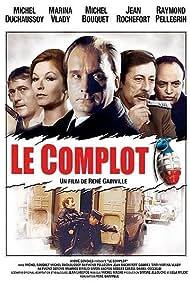 Michel Bouquet, Michel Duchaussoy, Raymond Pellegrin, Jean Rochefort, and Marina Vlady in Le complot (1973)