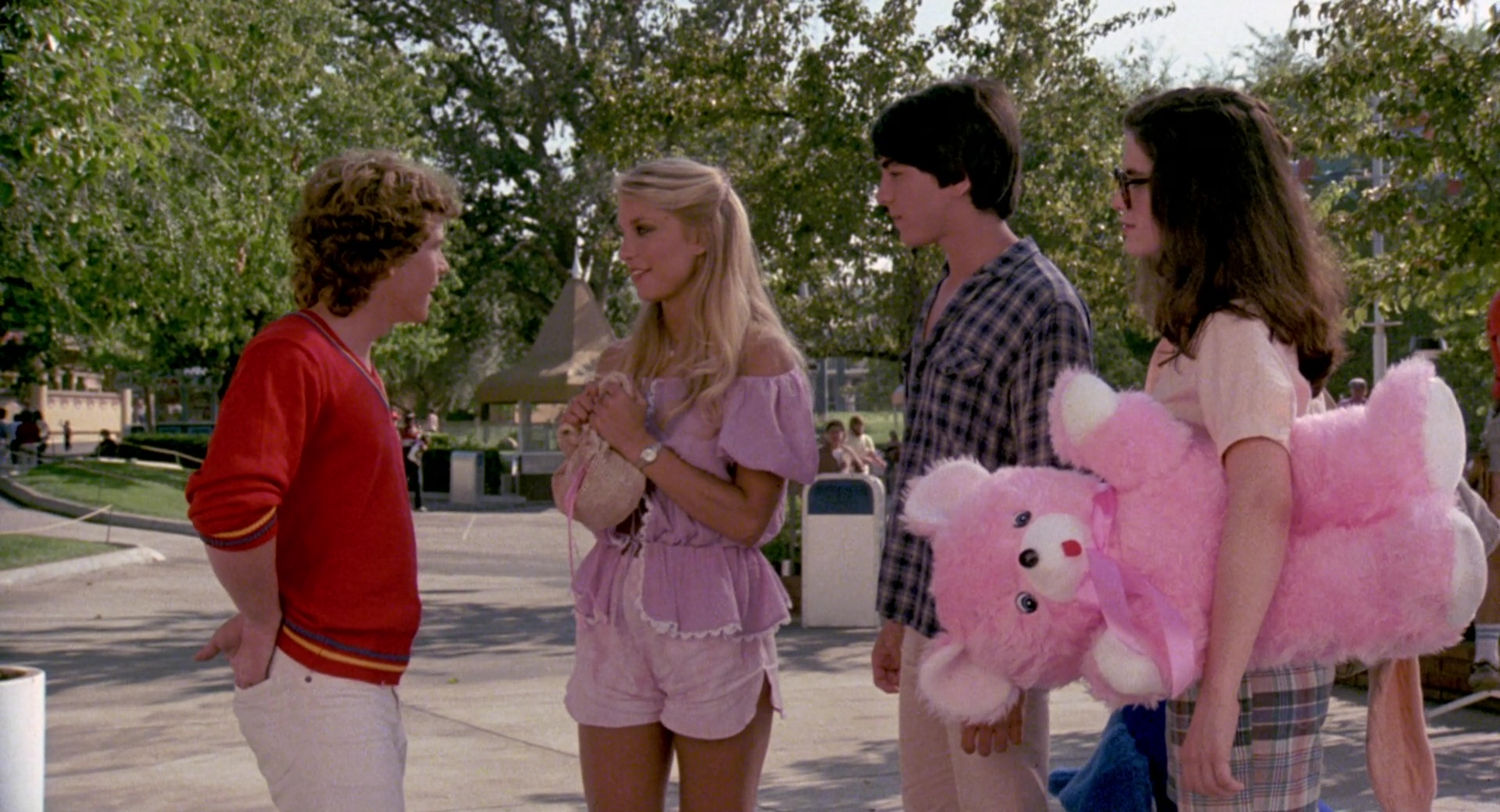 zapped movie 1982 cast