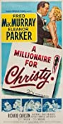 A Millionaire for Christy (1951) Poster