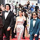 Marion Cotillard, Simon Helberg, and Adam Driver at an event for Annette (2021)