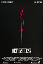 Defenseless Poster