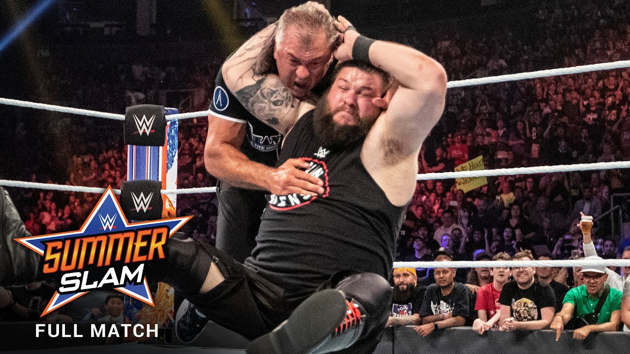 Shane McMahon and Kevin Steen in WWE: SummerSlam (2019)