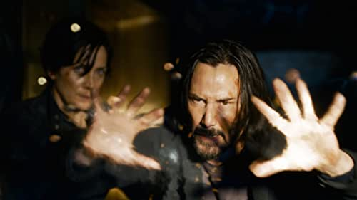 From visionary filmmaker Lana Wachowski comes 'The Matrix Resurrections,' the long-awaited fourth film in the groundbreaking franchise that redefined a genre.  The new film reunites original stars Keanu Reeves and Carrie-Anne Moss in the iconic roles they made famous, Neo and Trinity.  'The Matrix Resurrections' releases in theaters and on HBO Max December 22