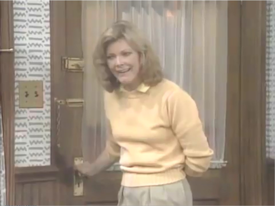 Jane Curtin in Kate & Allie (1984)