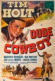 Dude Cowboy Poster