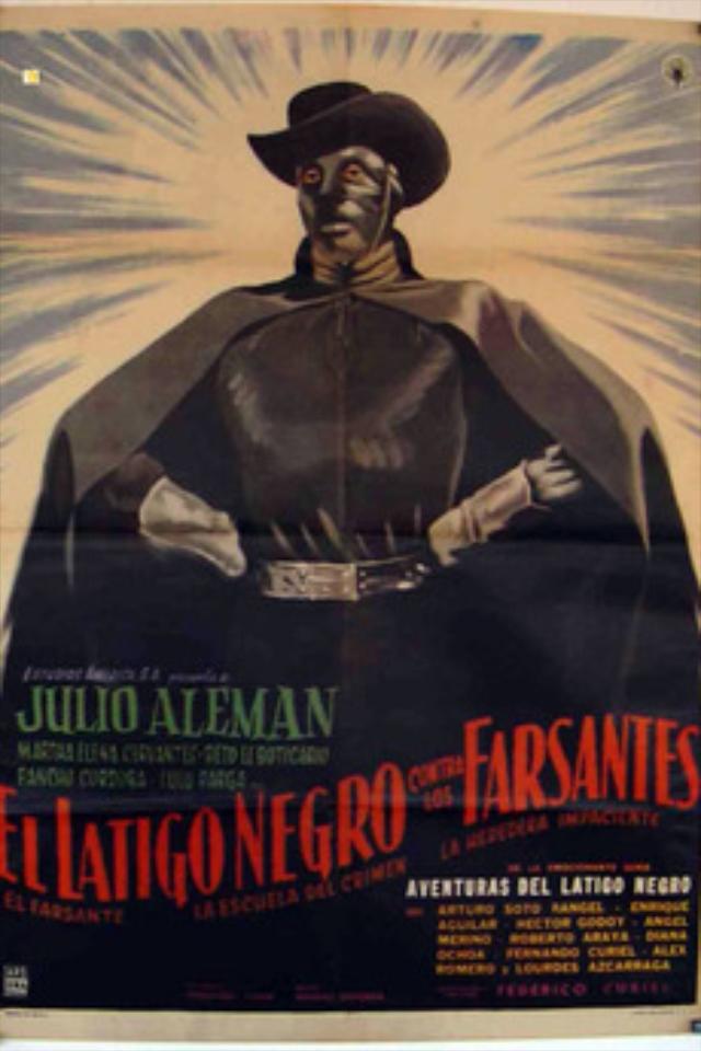 El látigo negro contra los farsantes (1962)