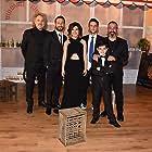 Cem Yilmaz, Yüksel Aksu, Okan Avci, Adam Bay, Berat Efe Parlar, and Ümmü Putgül at an event for Iftarlik Gazoz (2016)