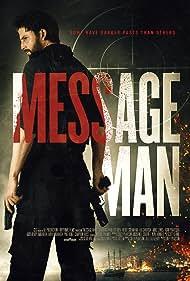 Paul O'Brien and Valentine Payen-Wicaksono in Message Man (2018)