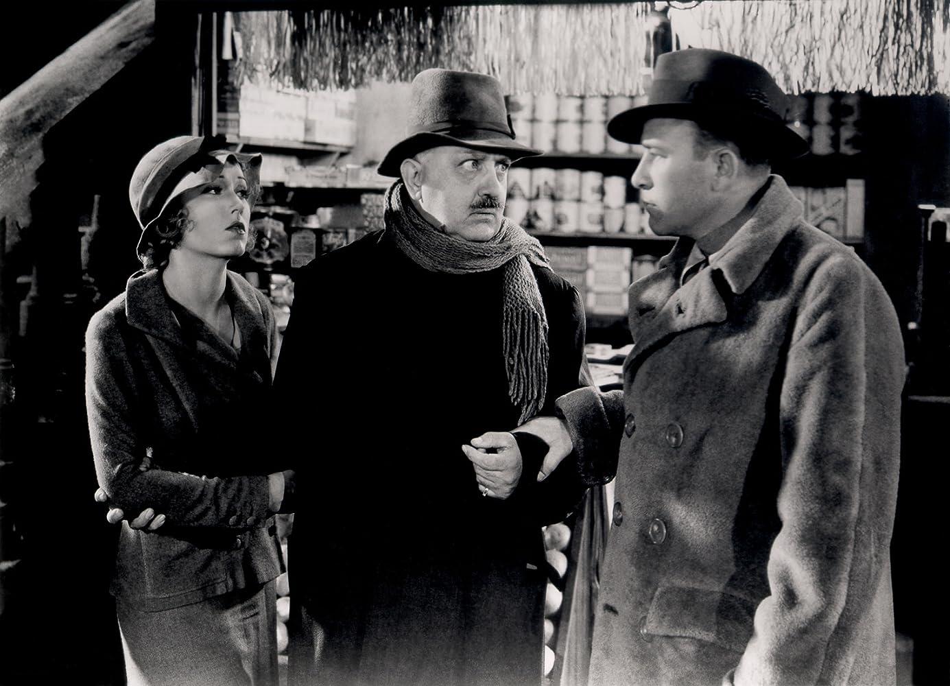 Robert Armstrong, Paul Porcasi, and Fay Wray in King Kong (1933)