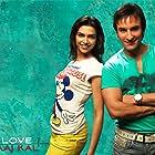 Saif Ali Khan and Deepika Padukone in Love Aaj Kal (2009)