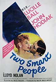 Two Smart People Poster