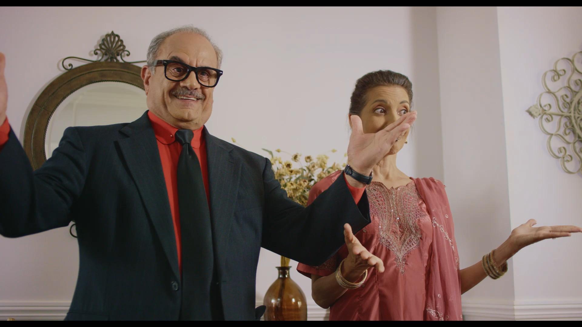 Veena Bidasha and Marshall Manesh in The Last Conception (2020)