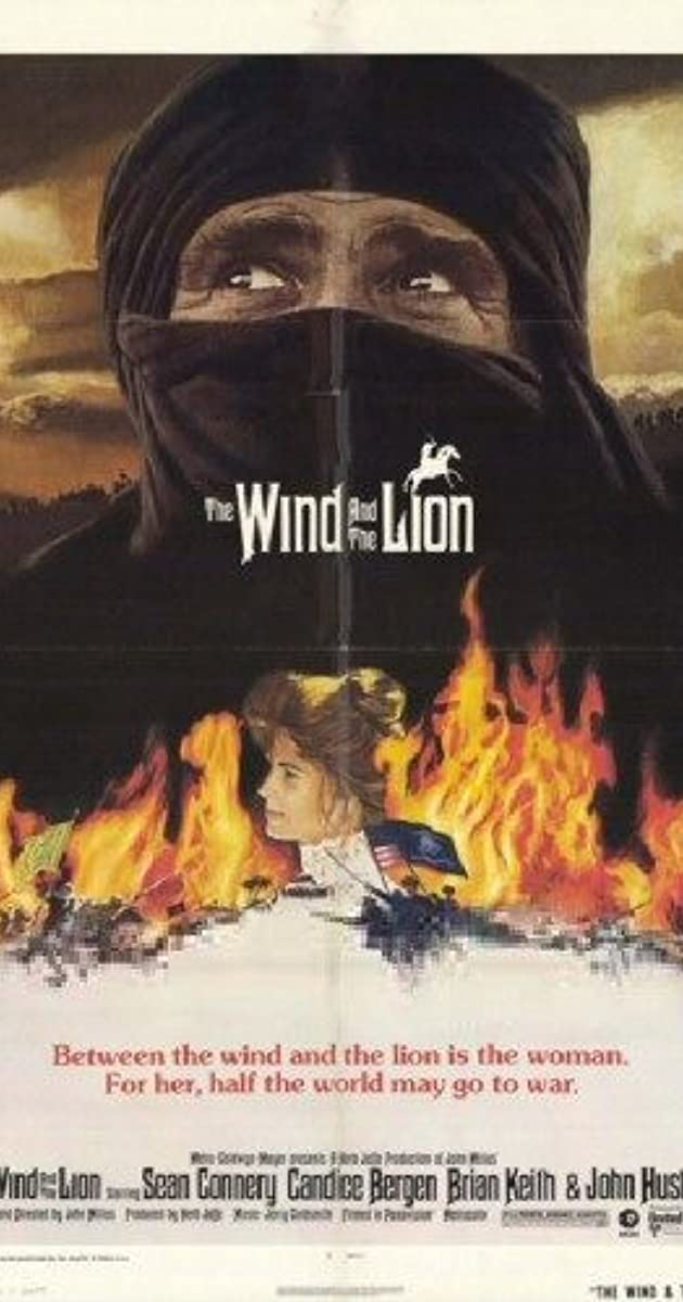Subtitle of The Wind and the Lion