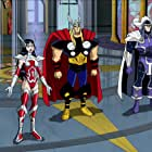 Nika Futterman, Nolan North, and Rick D. Wasserman in The Avengers: Earth's Mightiest Heroes (2010)