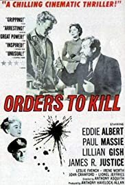 Orders to Kill(1958) Poster - Movie Forum, Cast, Reviews