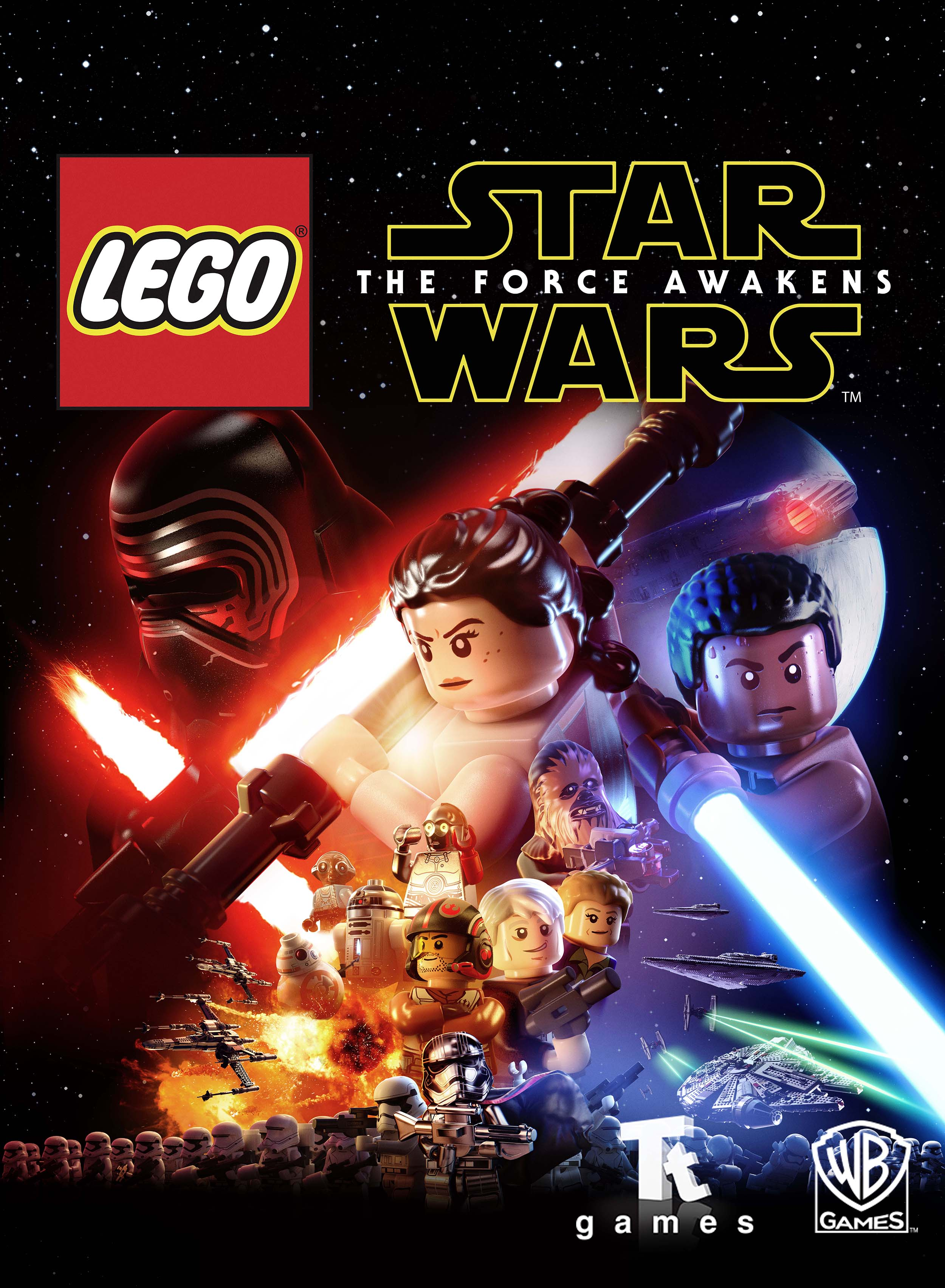 Lego Star Wars The Force Awakens Video Game 2016 Imdb