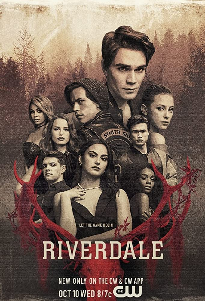 Vanessa Morgan, Cole Sprouse, Ashleigh Murray, Lili Reinhart, Camila Mendes, K.J. Apa, Charles Melton, Madelaine Petsch, and Casey Cott in Riverdale (2016)